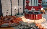روتور واحد ۳ نیروگاه سد شهید عباسپور با موفقیت نصب شد