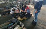 راه اندازی مجدد ماشین آلات سنگین معیوب در شبکه های آبیاری شمال خوزستان