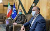 دیدار مدیر روابط عمومی سازمان آب و برق با مدیرکل صدا و سیمای خوزستان